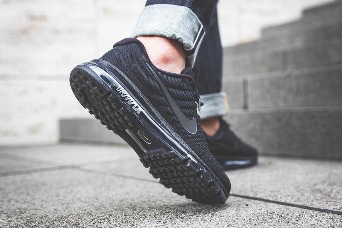 """The Nike Air Max 2017 """"Triple Black"""""""