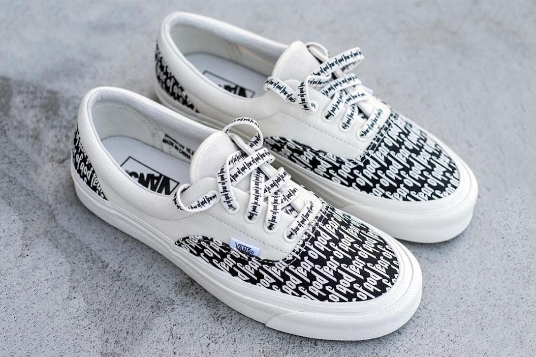 Vans x Fear Of God Sneaker Collaboration Is Releasing In November
