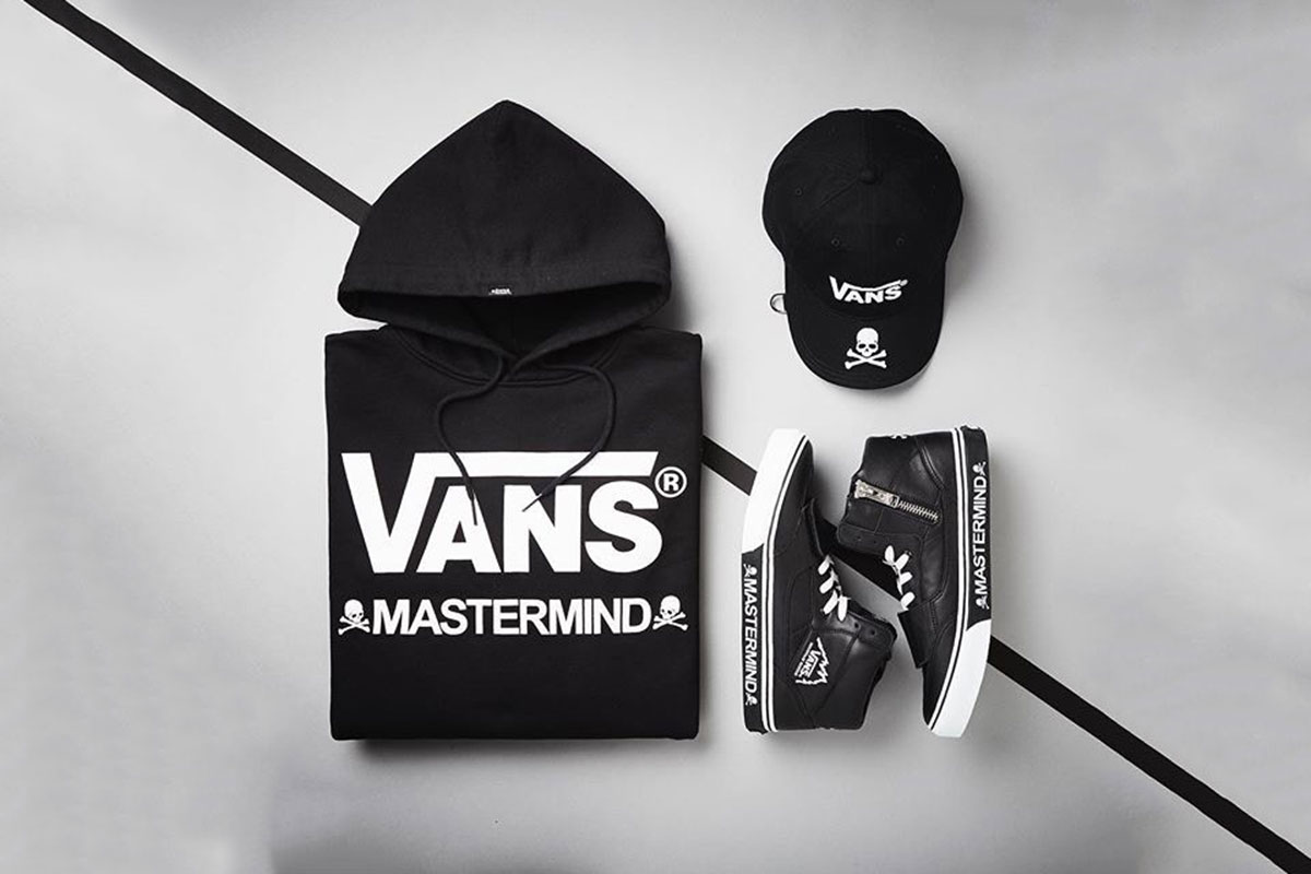 Details on the mastermind JAPAN x Vans Collaboration