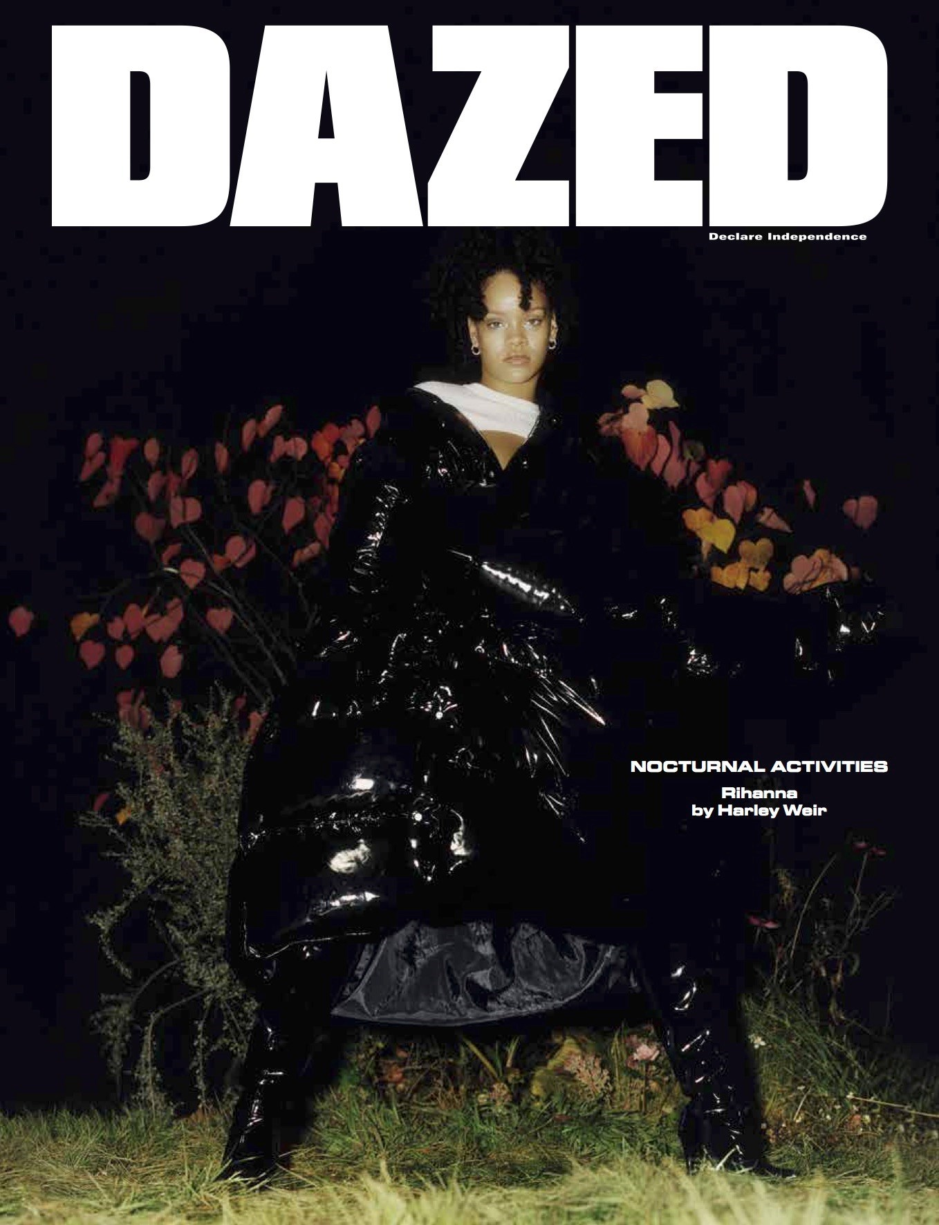 Rihanna Covers Dazed Magazine For The First Time