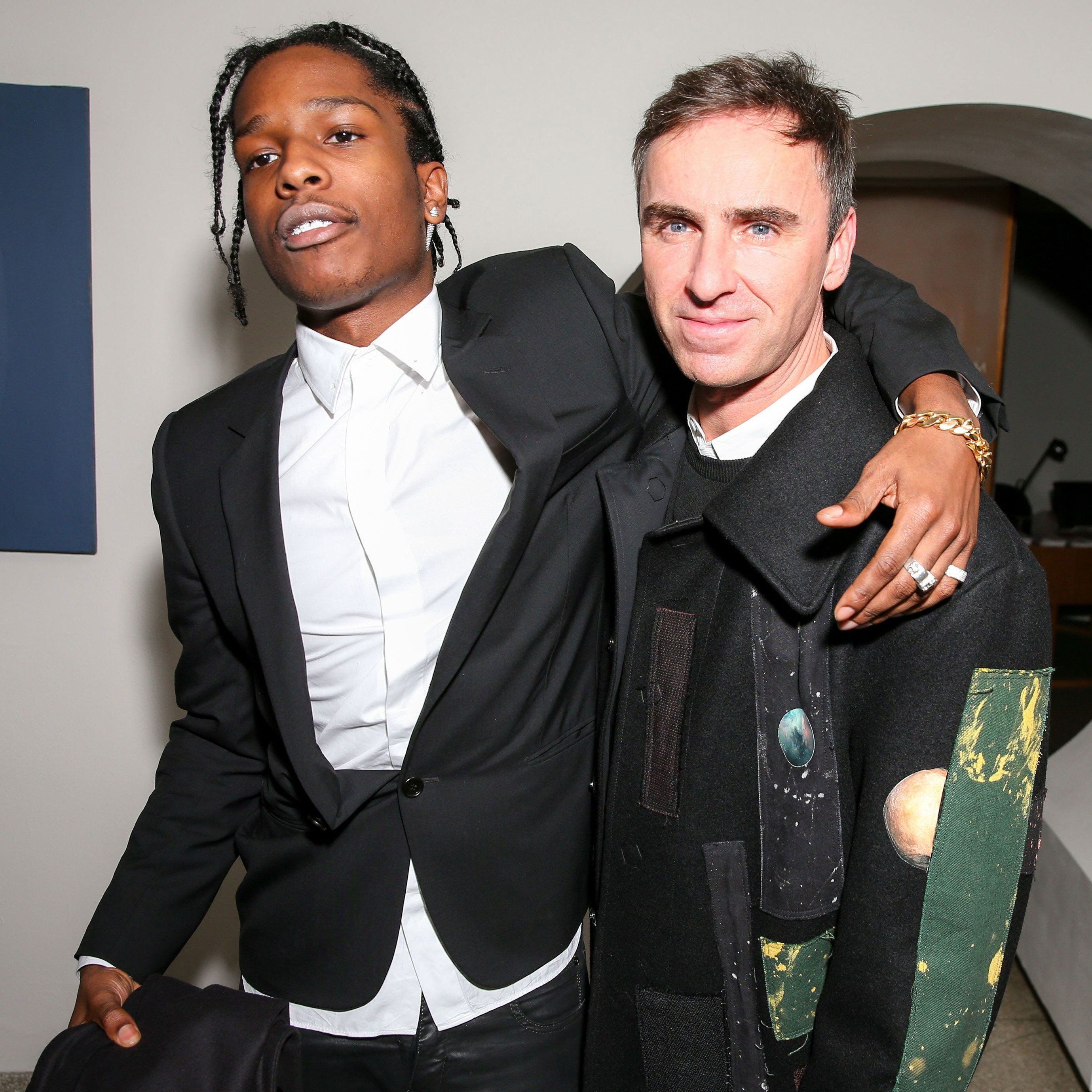 Raf Simons Talks To The Wall Street Journal About Underwear And A$AP Rocky