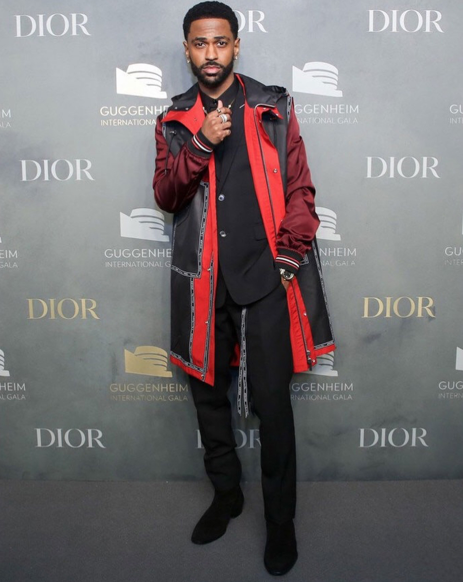 SPOTTED: Big Sean In Head-To-Toe Dior Homme