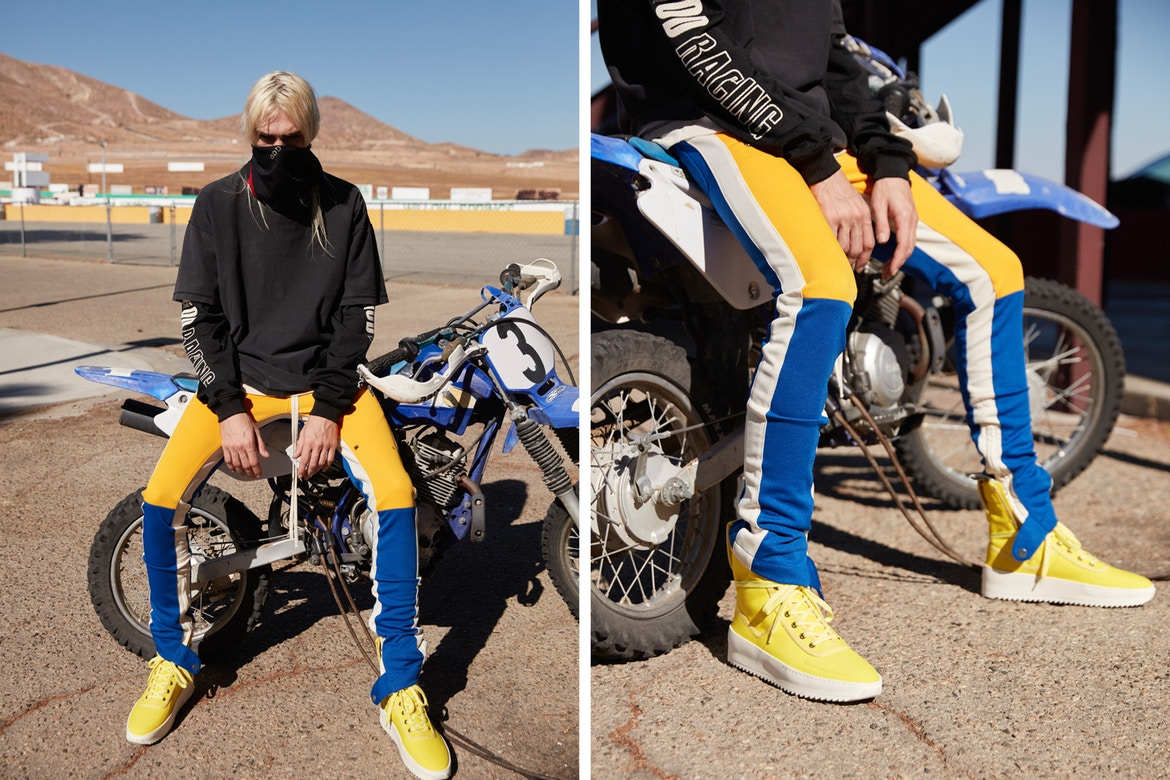 Fear Of God Announce Racing Collection To Debut At ComplexCon