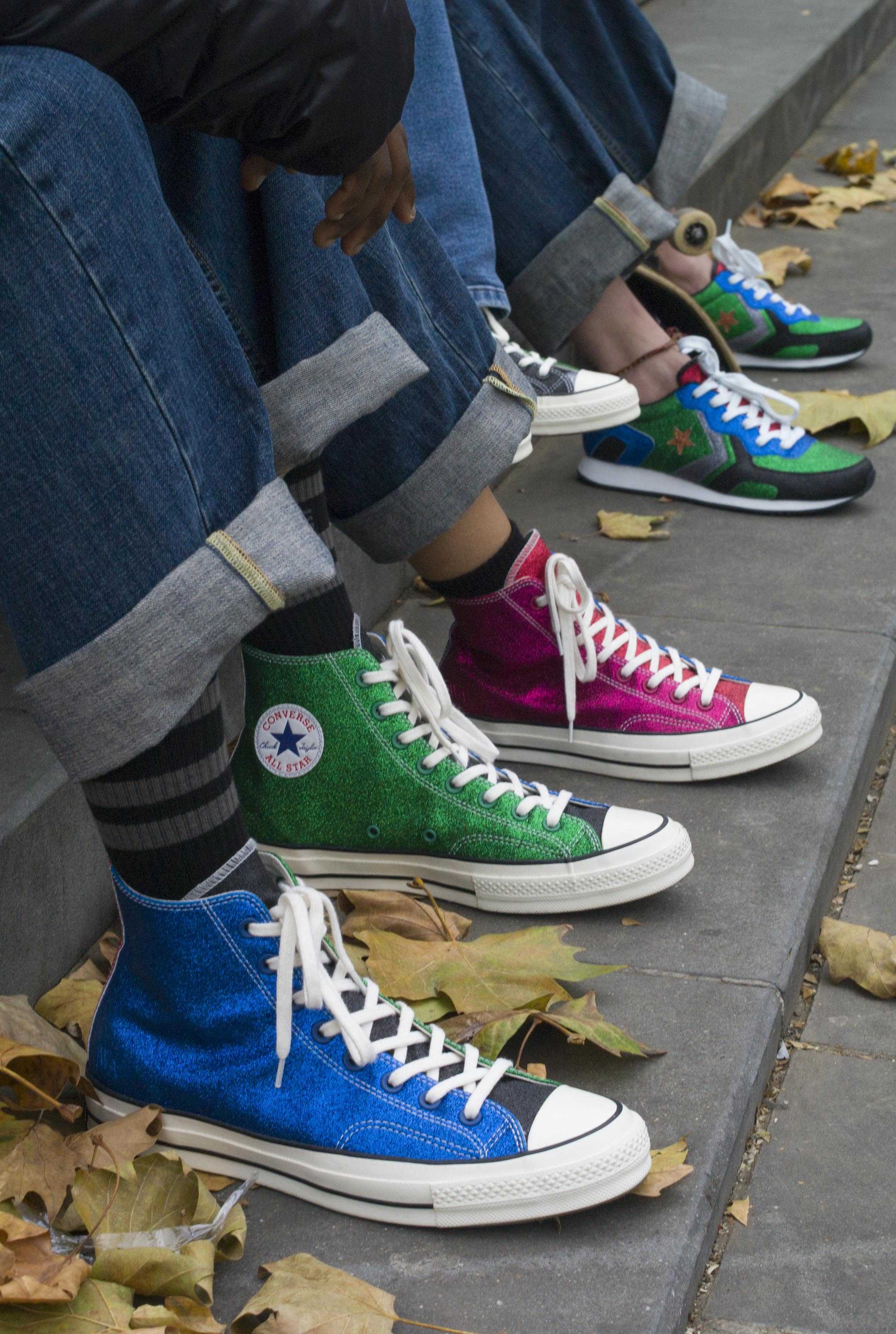 Converse Collab With JW Anderson To Create Glittery Converse