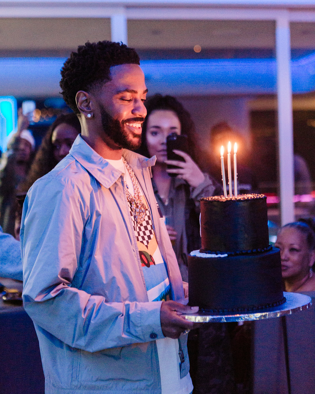 SPOTTED: Big Sean Continues His Birthday Celebrations in Prada