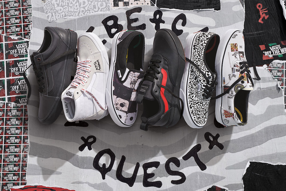 Vans x A Tribe Called Quest Reveal Footwear Collaboration