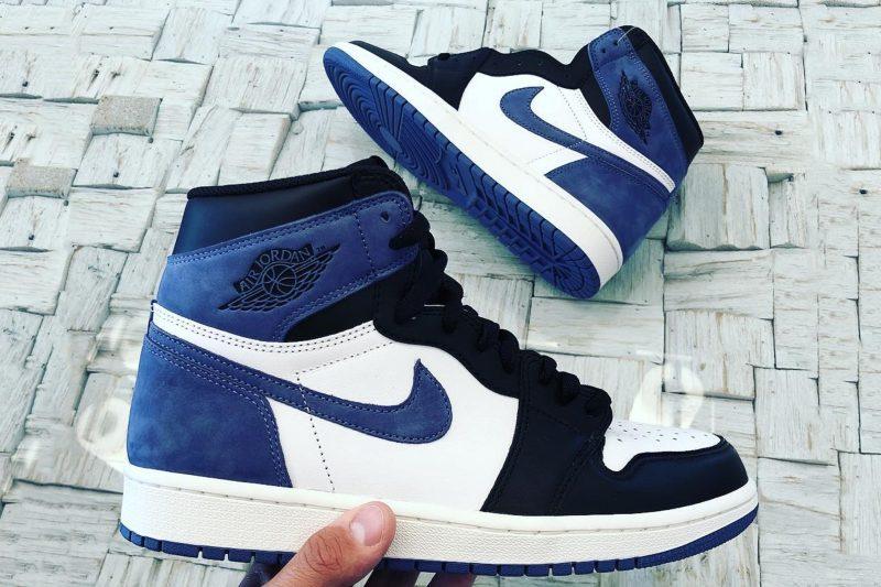 """Jordan Unveils Their New Air Jordan 1 High OG """"Blue Moon"""""""
