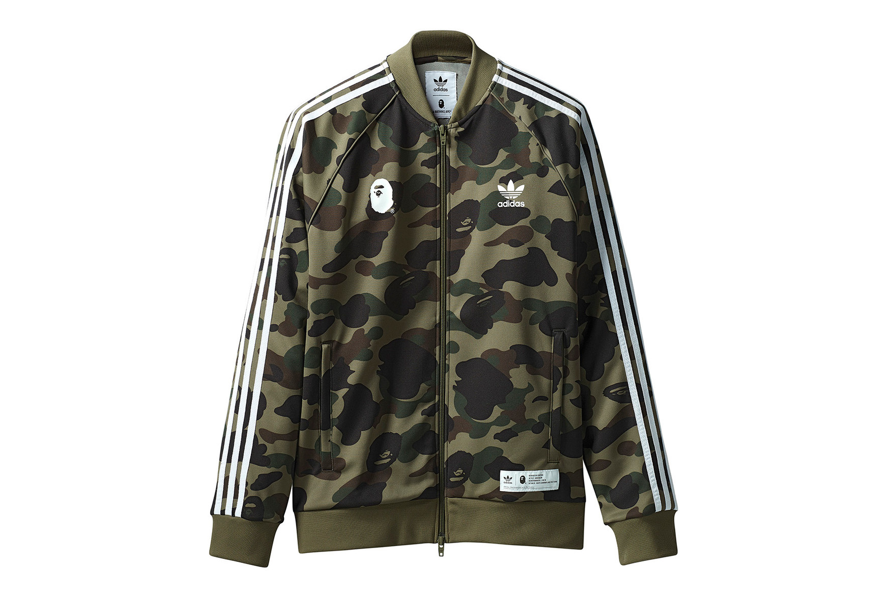 BAPE and adidas Originals Return with an All-New Camo Collection