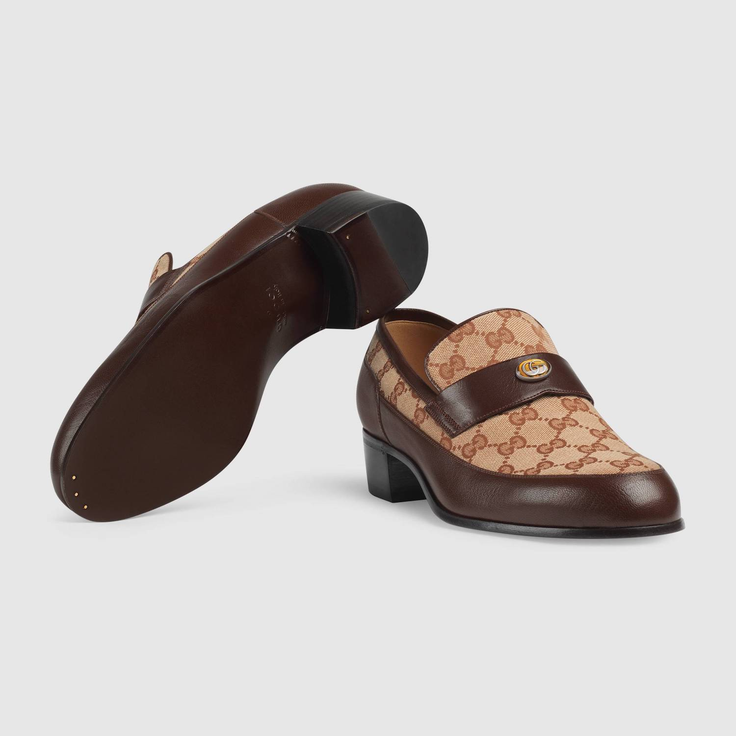 New In: Gucci Team Motif Loafer