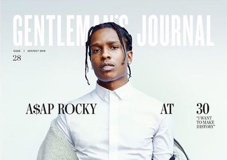 SPOTTED: ASAP Rocky Covers The Gentleman's Journal