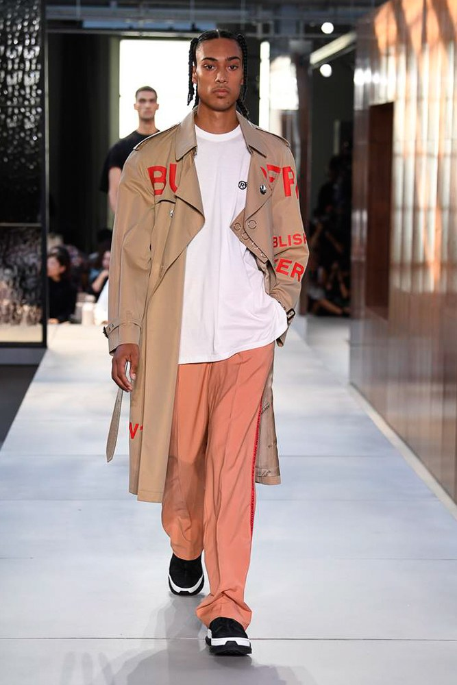 LFW: Burberry Menswear Spring/Summer 2019 Collection