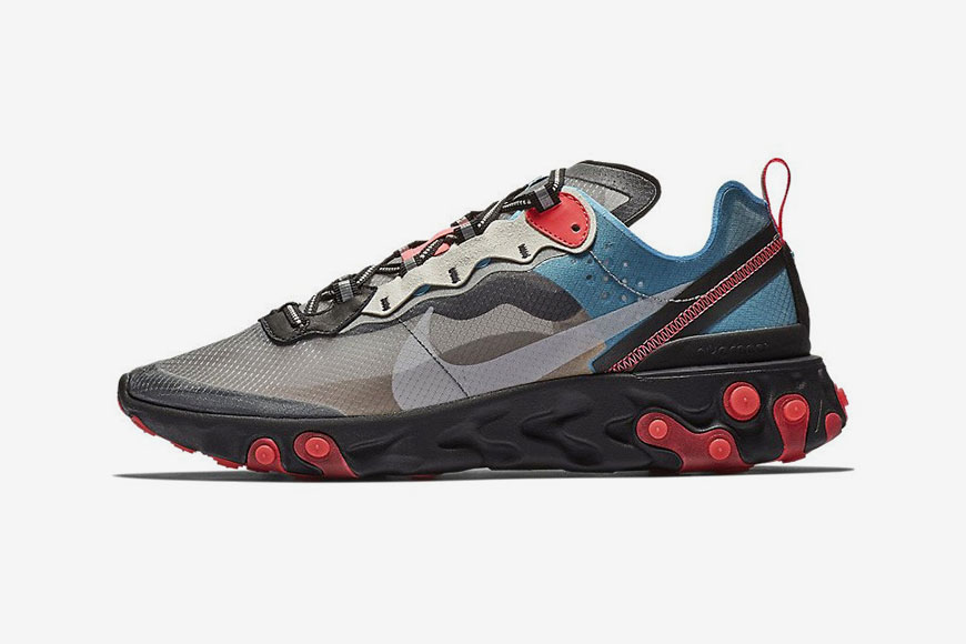 Nike's React Element 87 Receives an Autumn-Ready Revamp