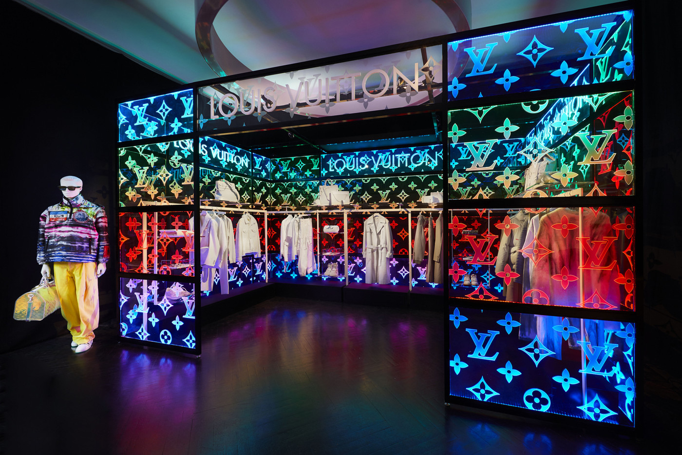 Take a Look into Louis Vuitton's Pop-Up For Virgil Abloh's SS19 Debut Collection