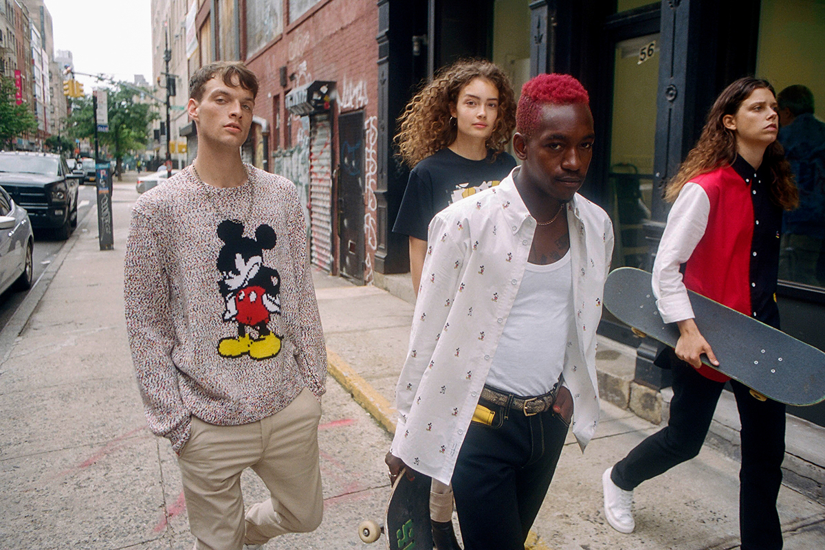 Mickey Mouse Links with Rag & Bone to Celebrate 90th Anniversary