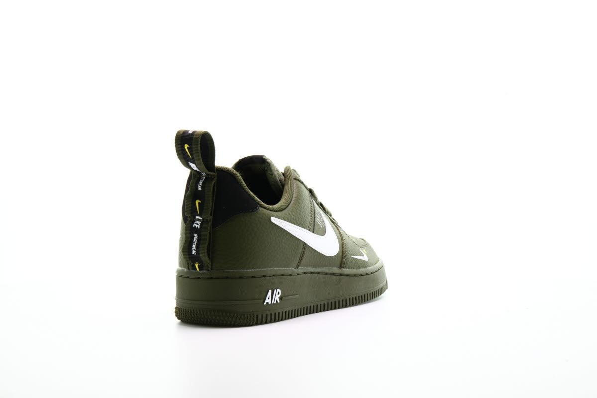 "Nike's Iconic Air Force 1 Arrives in '07 LV8 Utility ""Olive"
