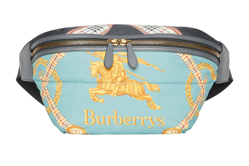 Burberry Taps into Their Archive Yet Again for a New Printed Belt Bag