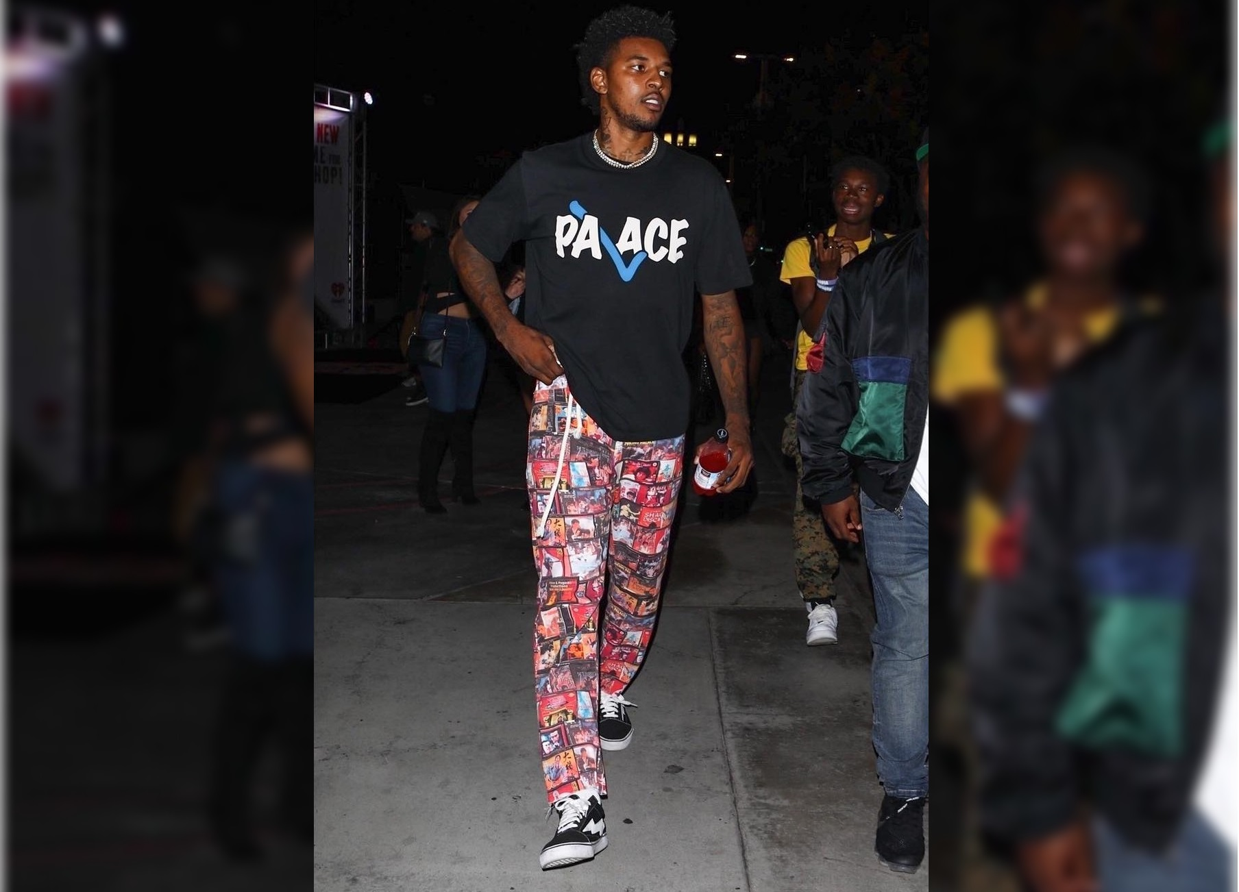 SPOTTED: Nick Young Rocks Palace and Revenge x Storm