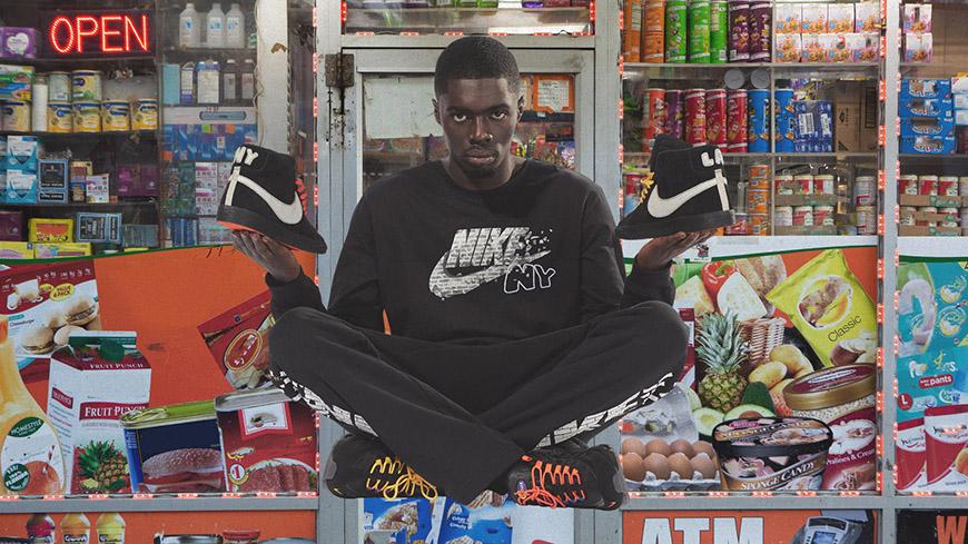 Sheck Wes' Air Max 95 and Blazer Kicks Off Nike's NYC Editions Program