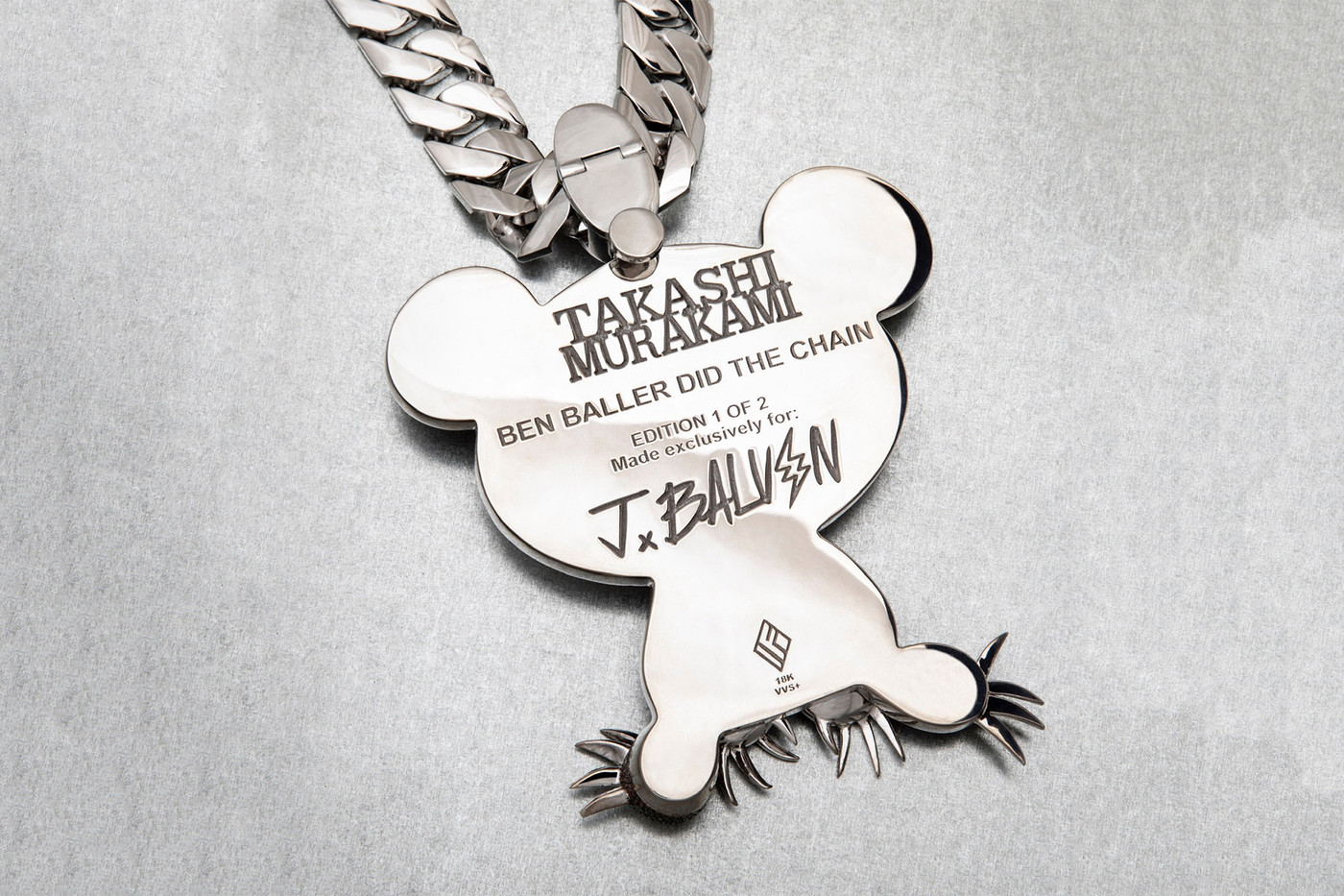 Ben Baller and Takashi Murakami Team Up to Produce Two $560,000 Pieces of Jewellery for J Balvin
