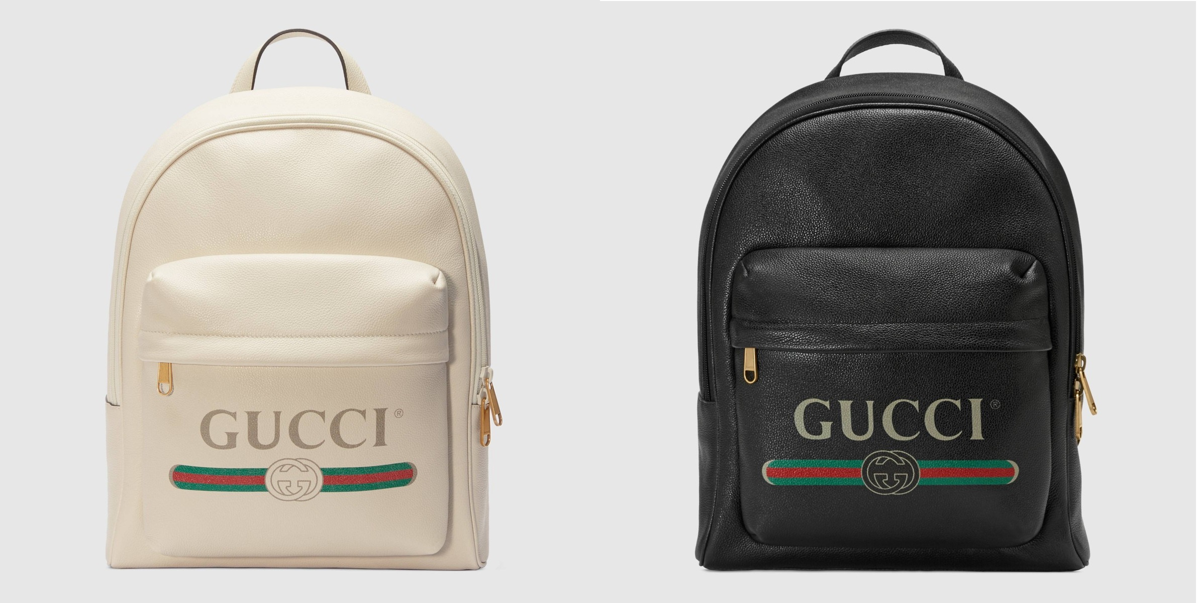 PAUSE or Skip: Gucci's Branded Leather Backpacks
