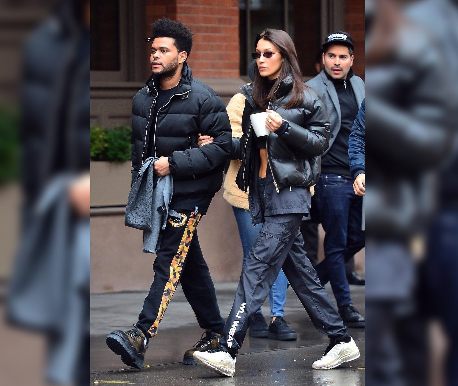 SPOTTED: The Weeknd and Bella Hadid Go Sleek with Wu Tang, BAPE, Nike and More
