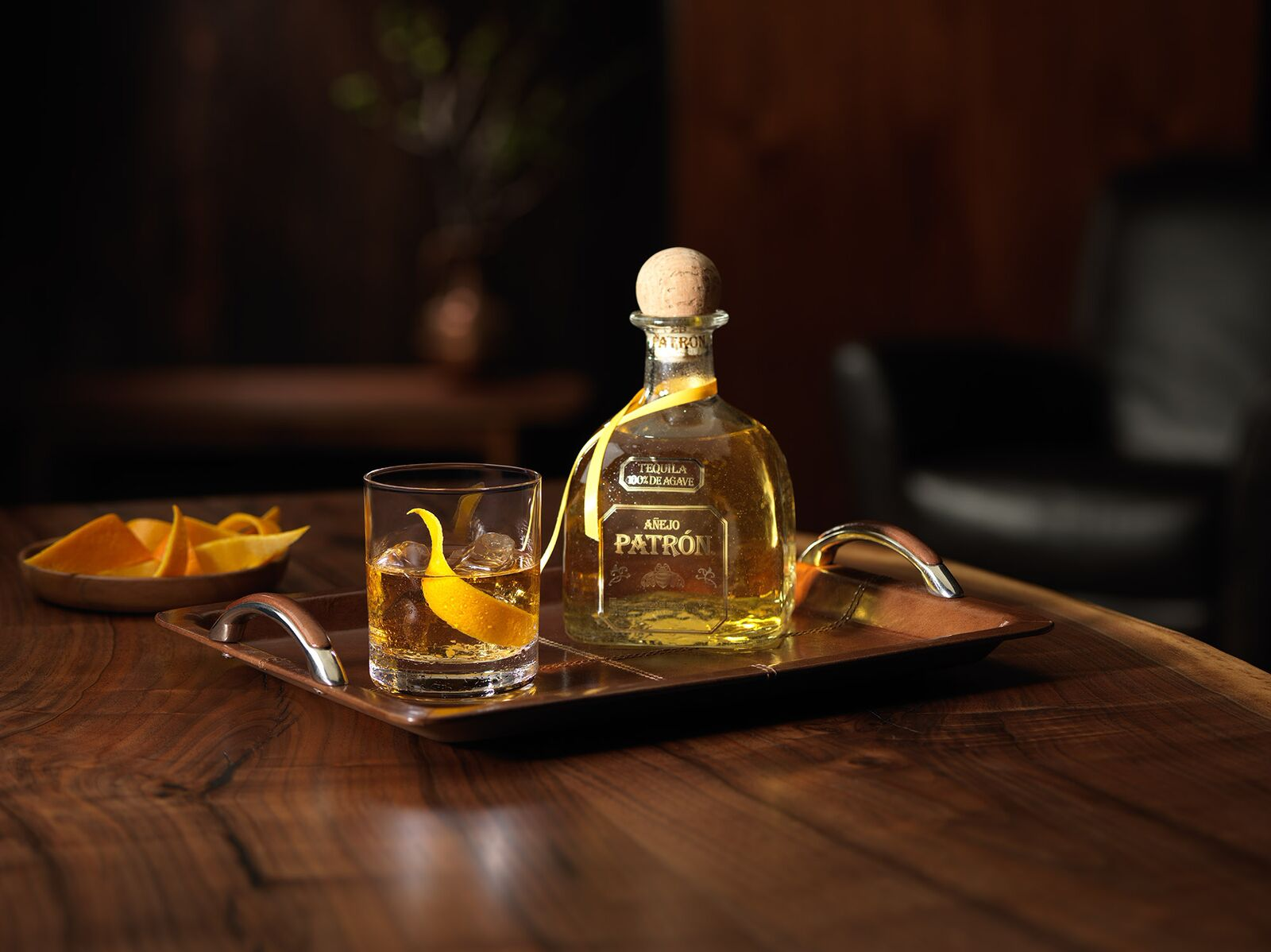 PAUSE Drinks: Patrón Old Fashioned