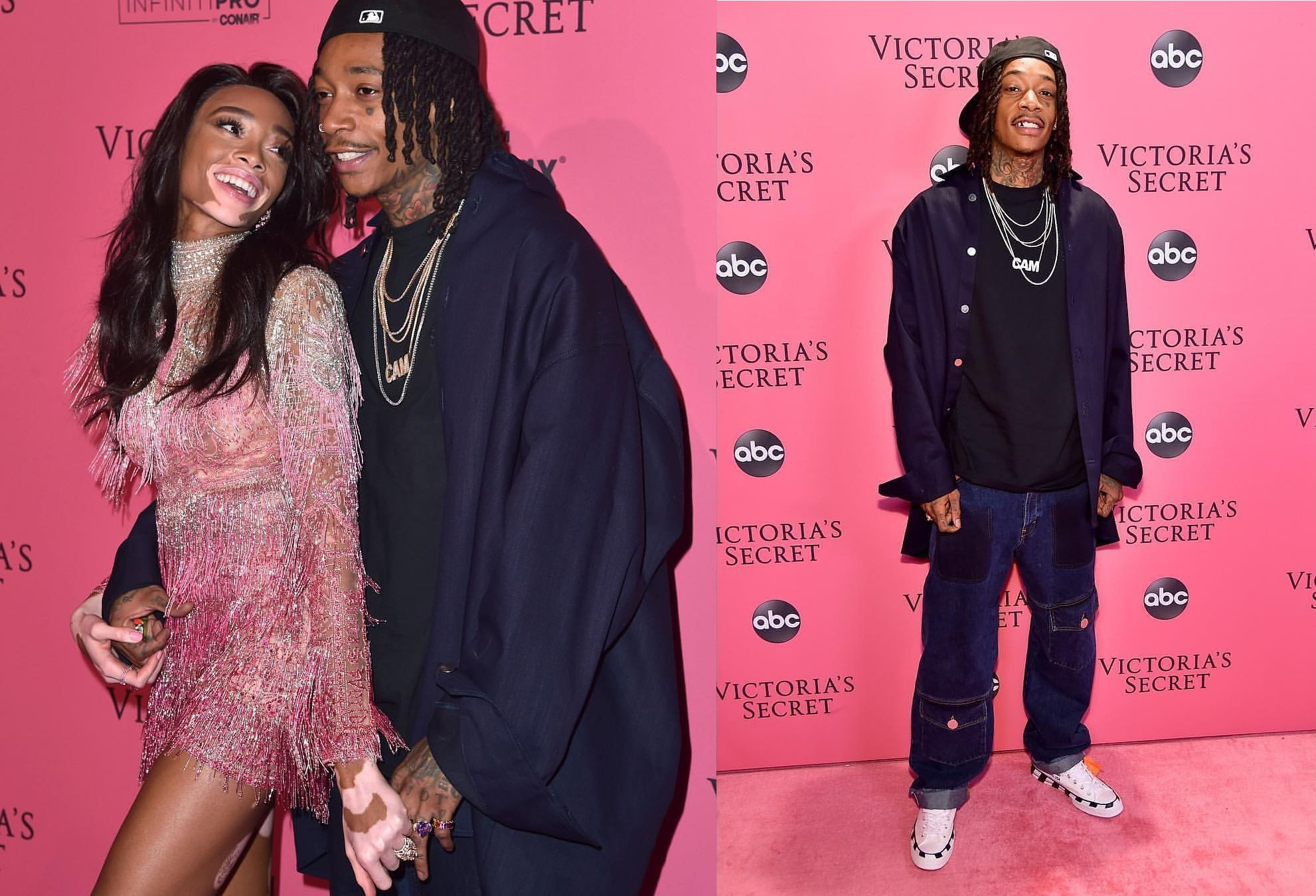 SPOTTED: Wiz Khalifa and Winnie Harlow Sport Off-White™, Dundas and More