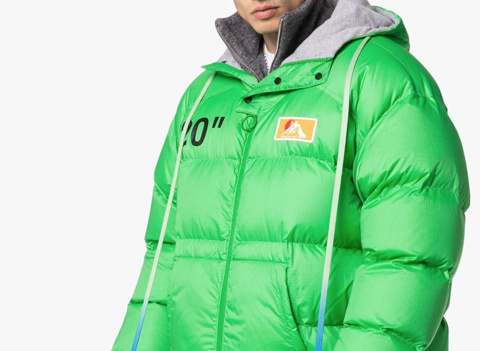 PAUSE or Skip: OFF-WHITE Hooded Padded Jacket