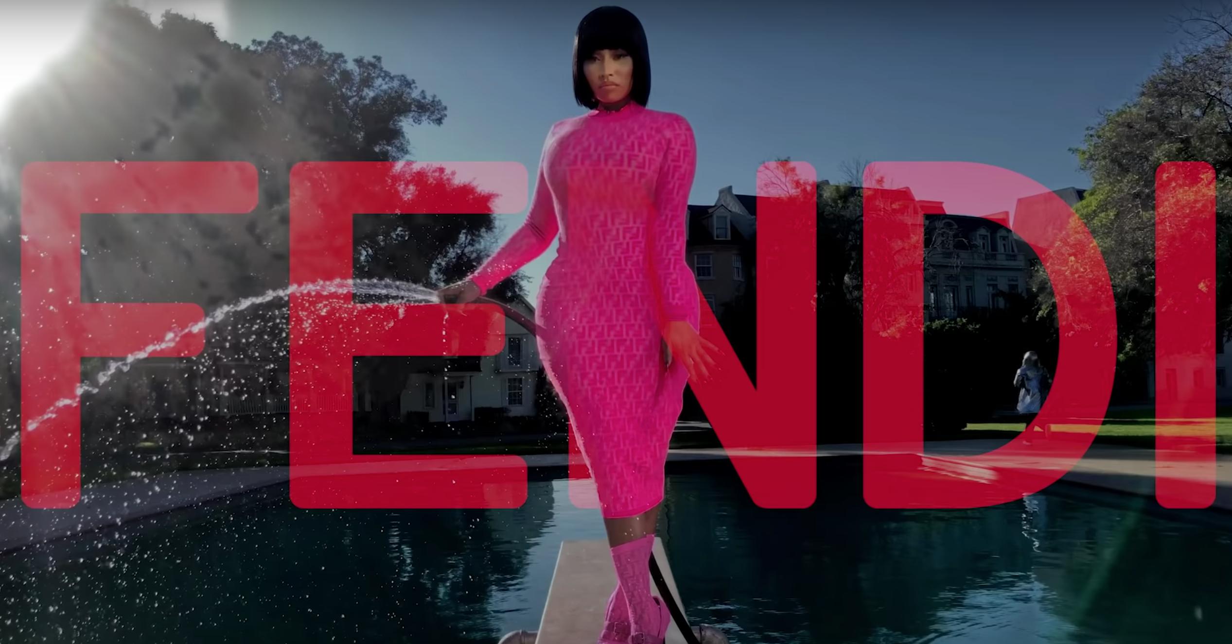 The Nicki Minaj x Fendi Collab Has Dropped Online