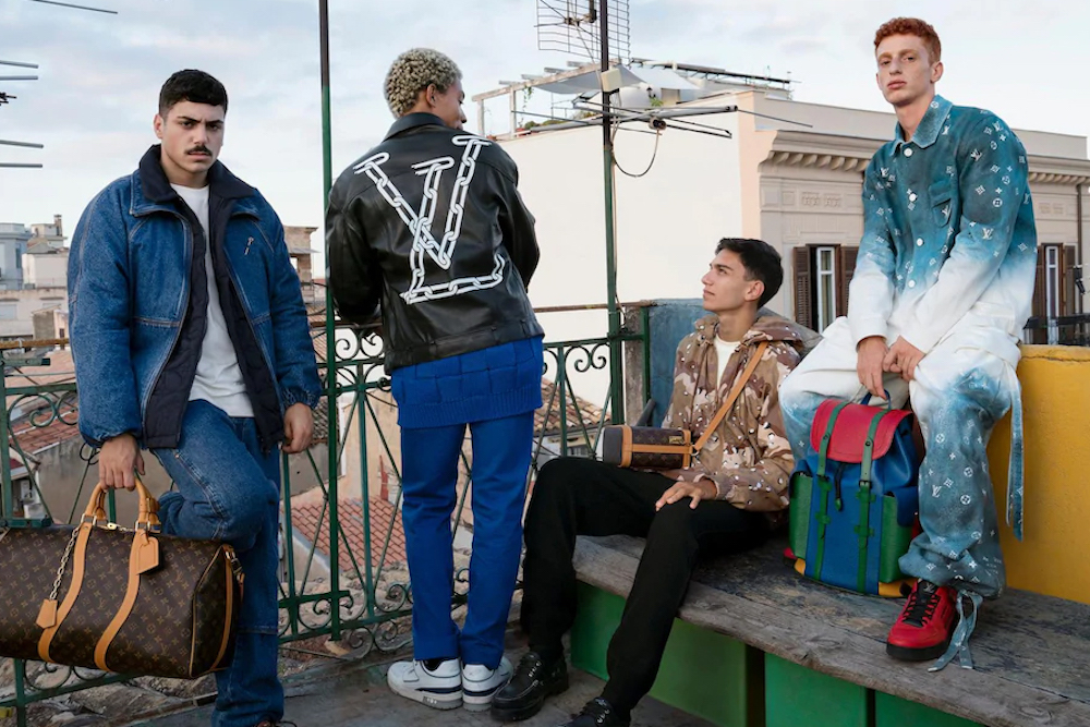 Louis Vuitton Menswear Pre-Spring/Summer 2020 Campaign
