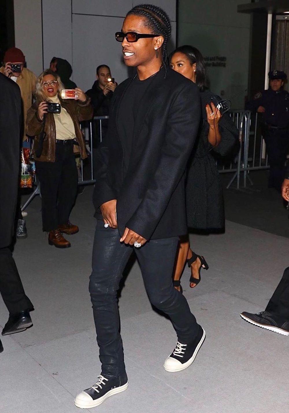 SPOTTED: ASAP Rocky Attends 2019 WSJ Magazine Innovators Awards
