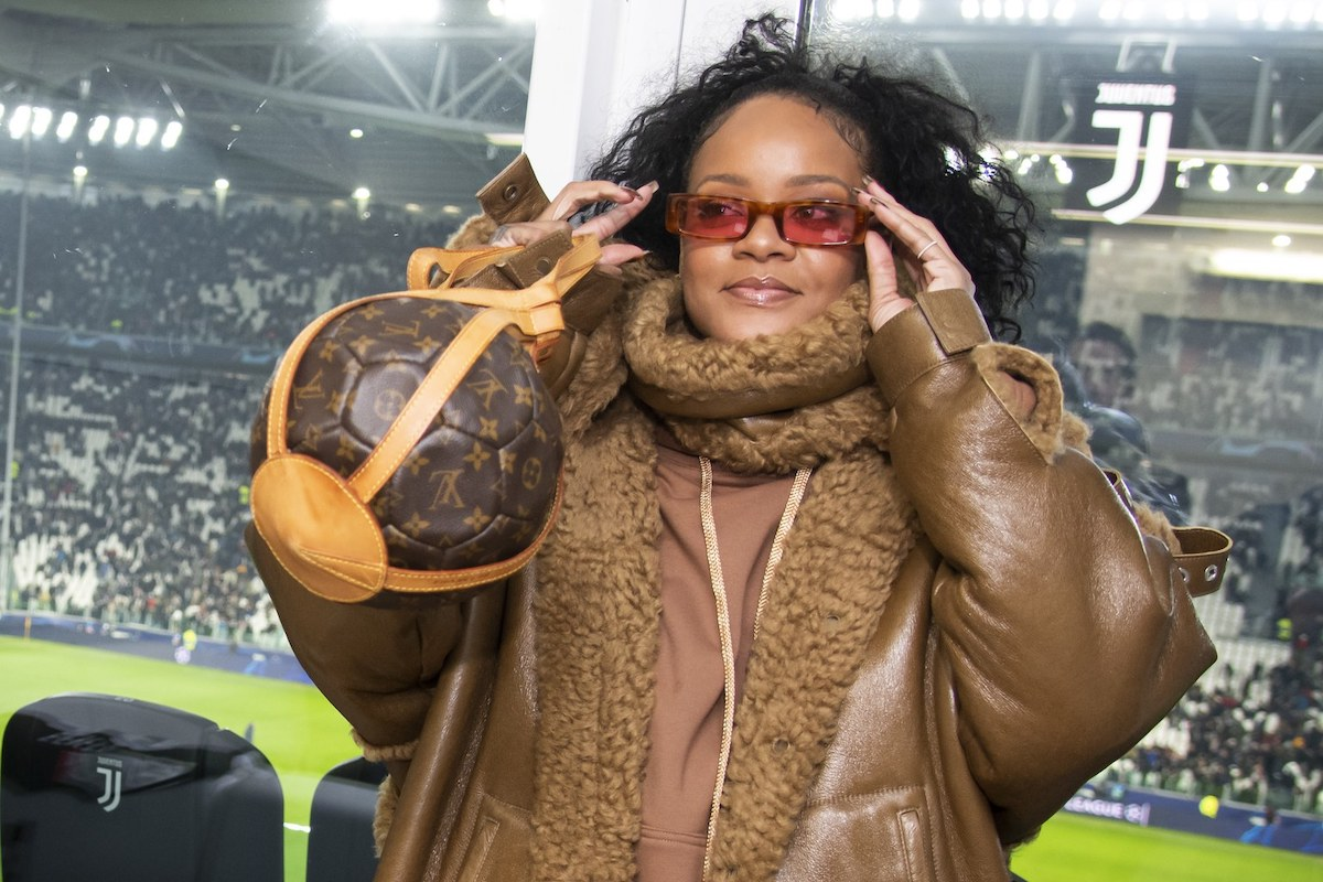 SPOTTED: Rihanna Attends Football Game with Rare Louis Vuitton Bag