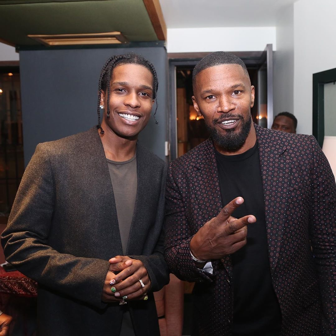 SPOTTED: ASAP Rocky Dons Maison Margiela with Jamie Foxx in NYC