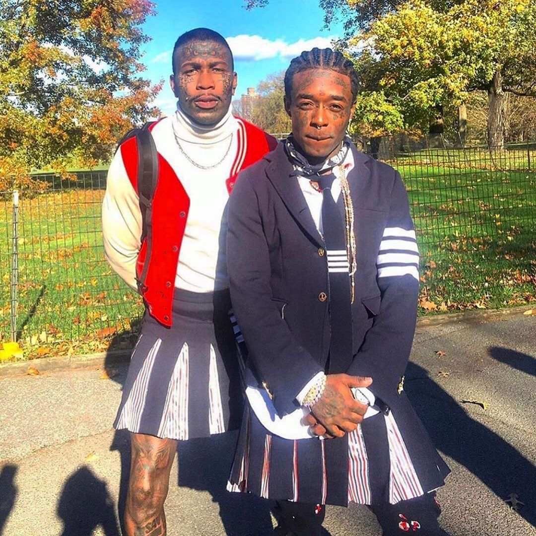 SPOTTED: Lil Uzi Vert in Head to Toe Thom Browne Ensemble
