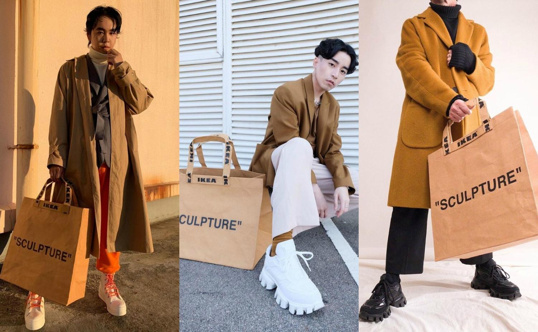 "PAUSE Hightlights: IKEA x Virgil Abloh ""SCULPTURE"" Bag"