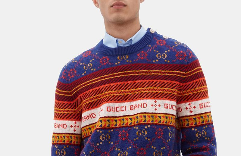 PAUSE or Skip: Gucci's Festive GG-Jacquard Wool Sweater