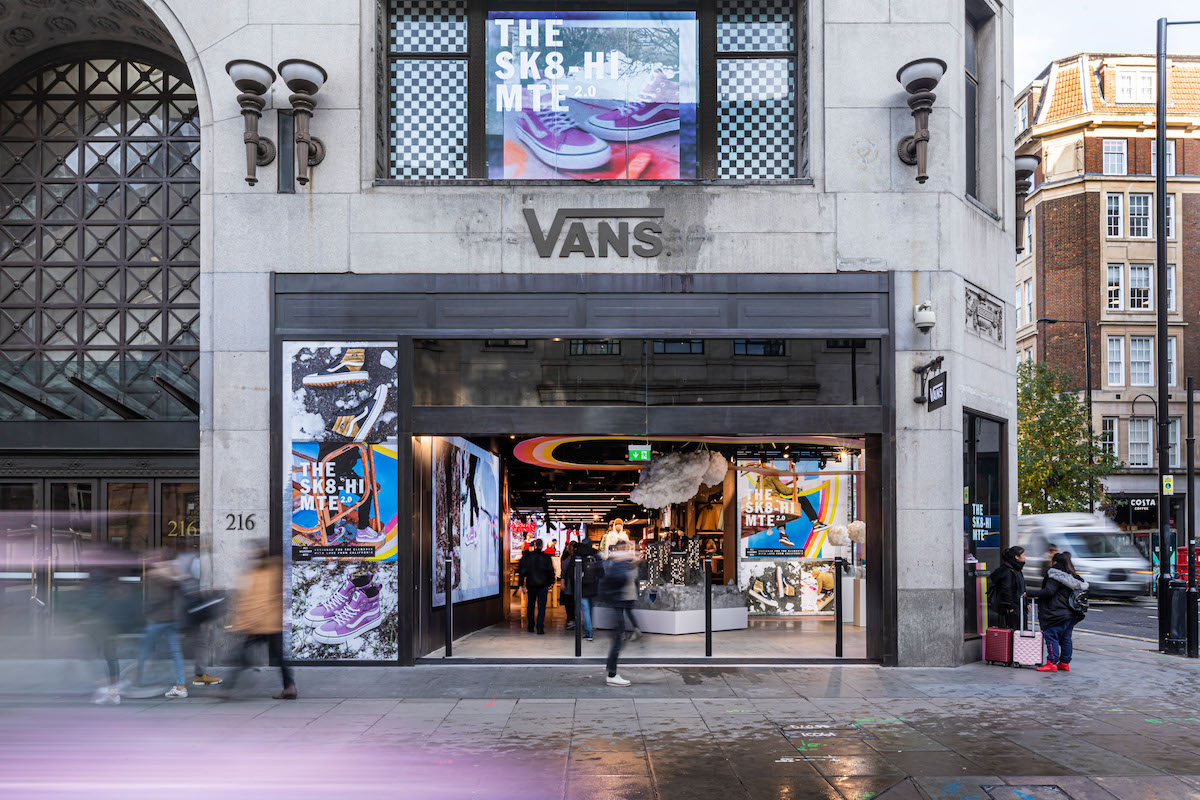 Vans Open Their Largest European Store on London's Oxford Street