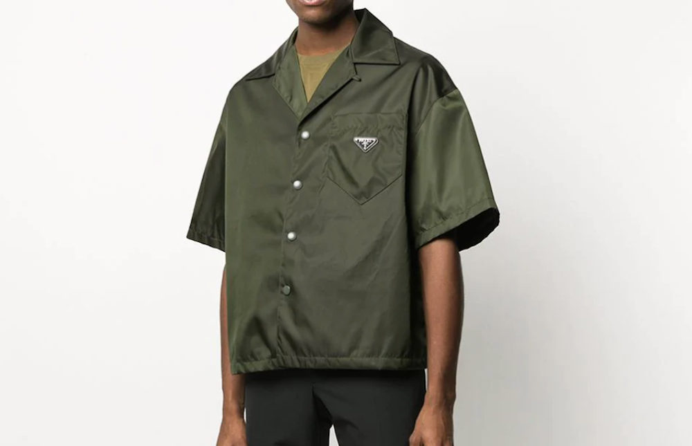 PAUSE or Skip: Prada Nylon Oversized Shirt