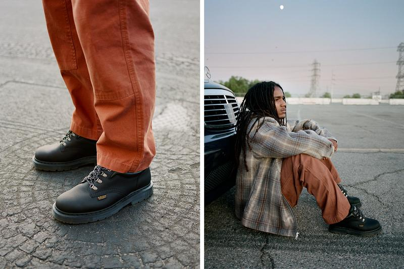 Stüssy & Dr. Martens Join Forces For A New Collaboration