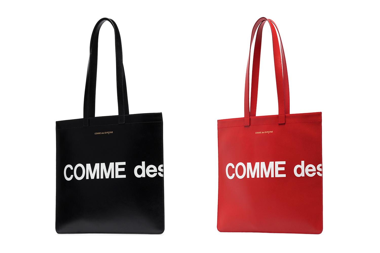 PAUSE or Skip: COMME des GARÇONS' Bold Tonal Tote Bags