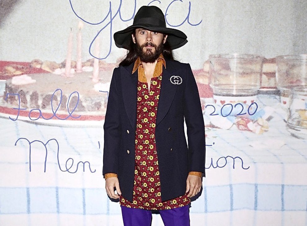SPOTTED: Jared Leto attends Gucci Show in Milan