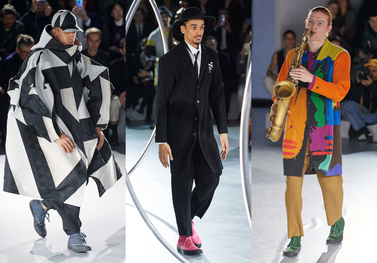 PFW: Homme Plissé Issey Miyake Autumn/Winter 2020 Collection