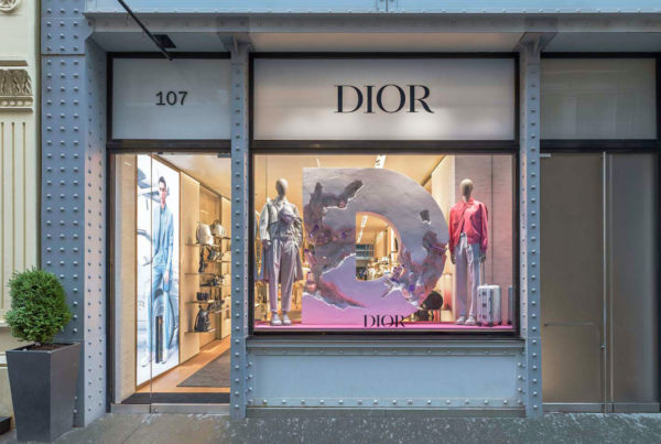 Dior Men store on Greene street, Soho, New York, USA. Photo ©Kristen Pelou