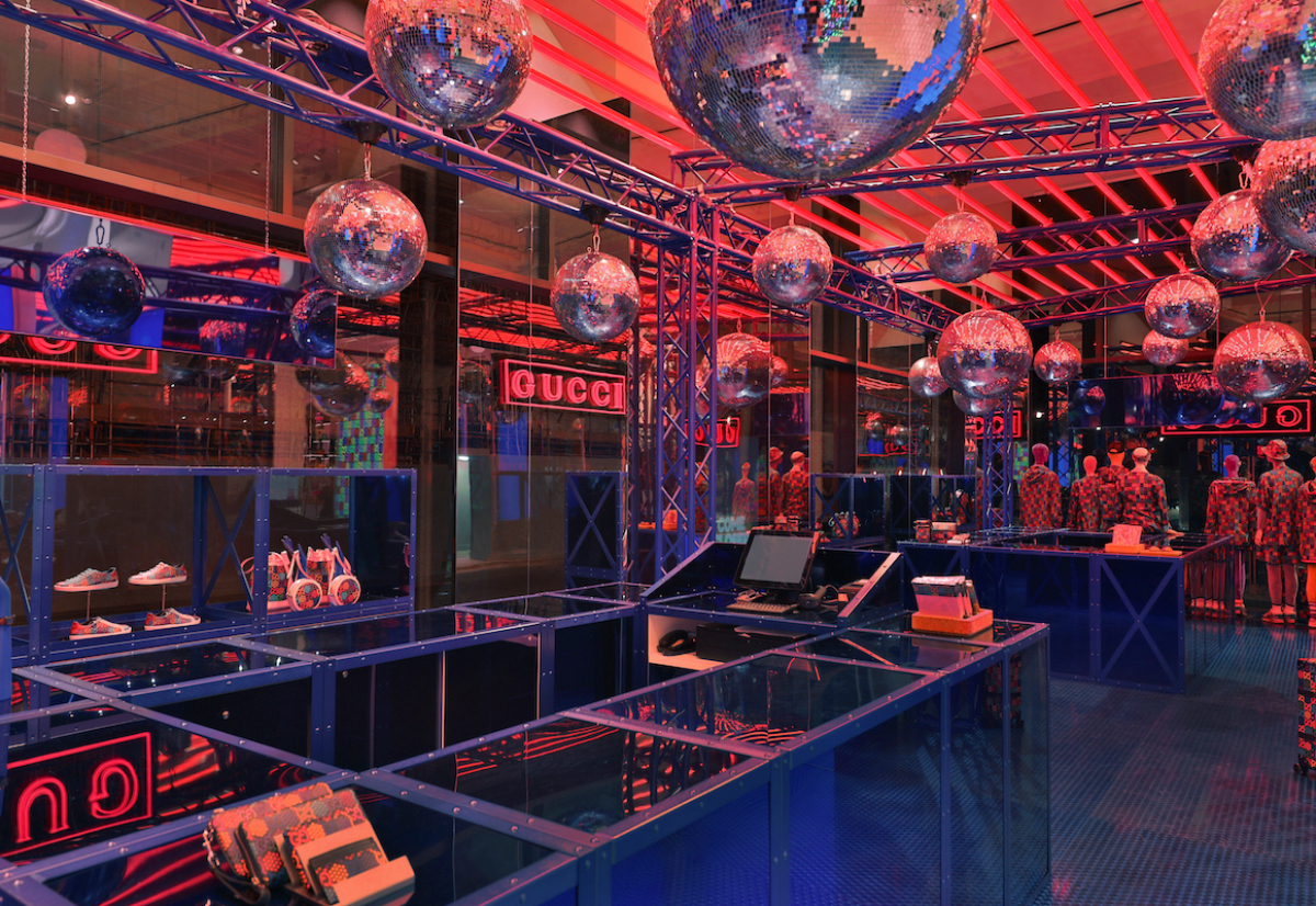 "Gucci Launch ""Psychedelic"" Campaign & Selfridges Pop Up"