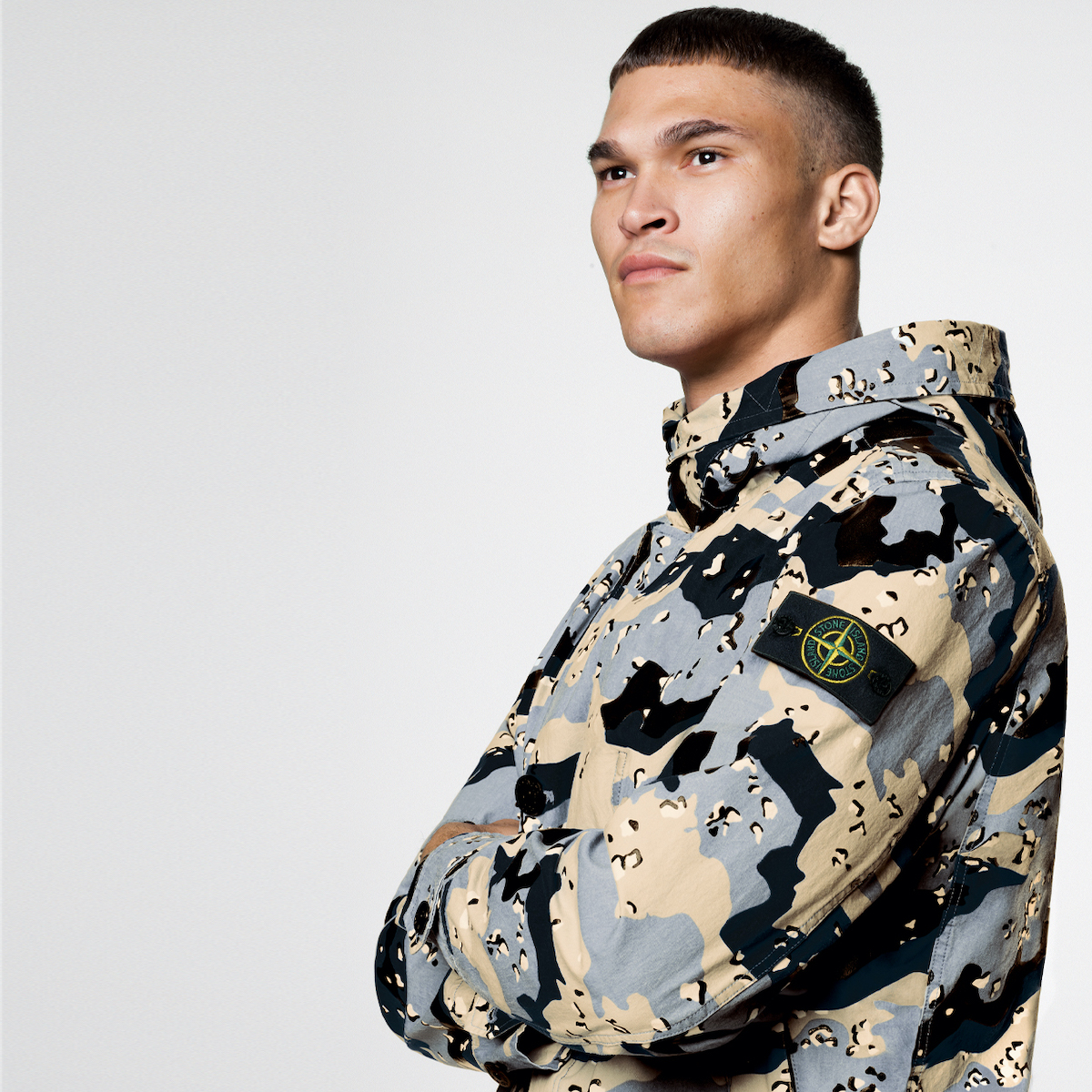 Stone Island drop Six-Piece Camo Collection exclusively at Browns