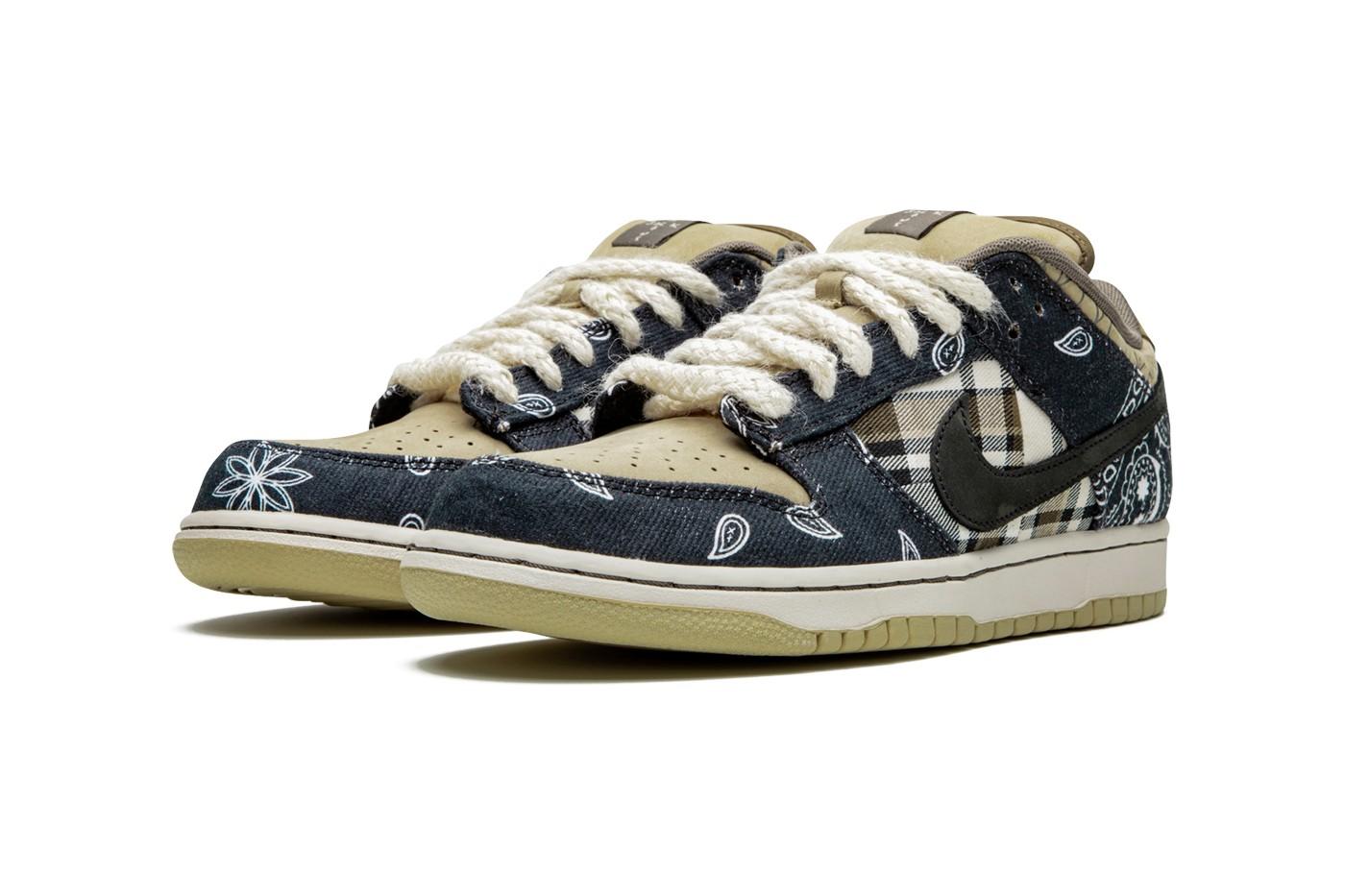 "A Closer Look At The Travis Scott x Nike SB Dunk Low ""Cactus Jack"""