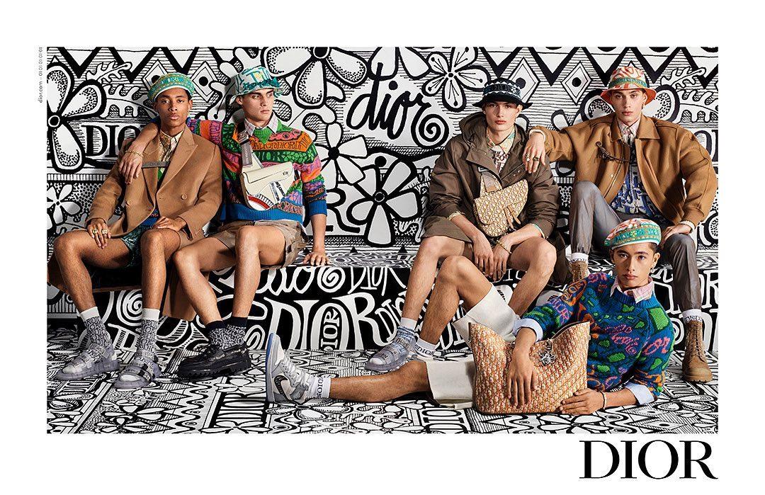 Kim Jones Teases more from Dior Men's Autumn/Winter 2020 Campaign