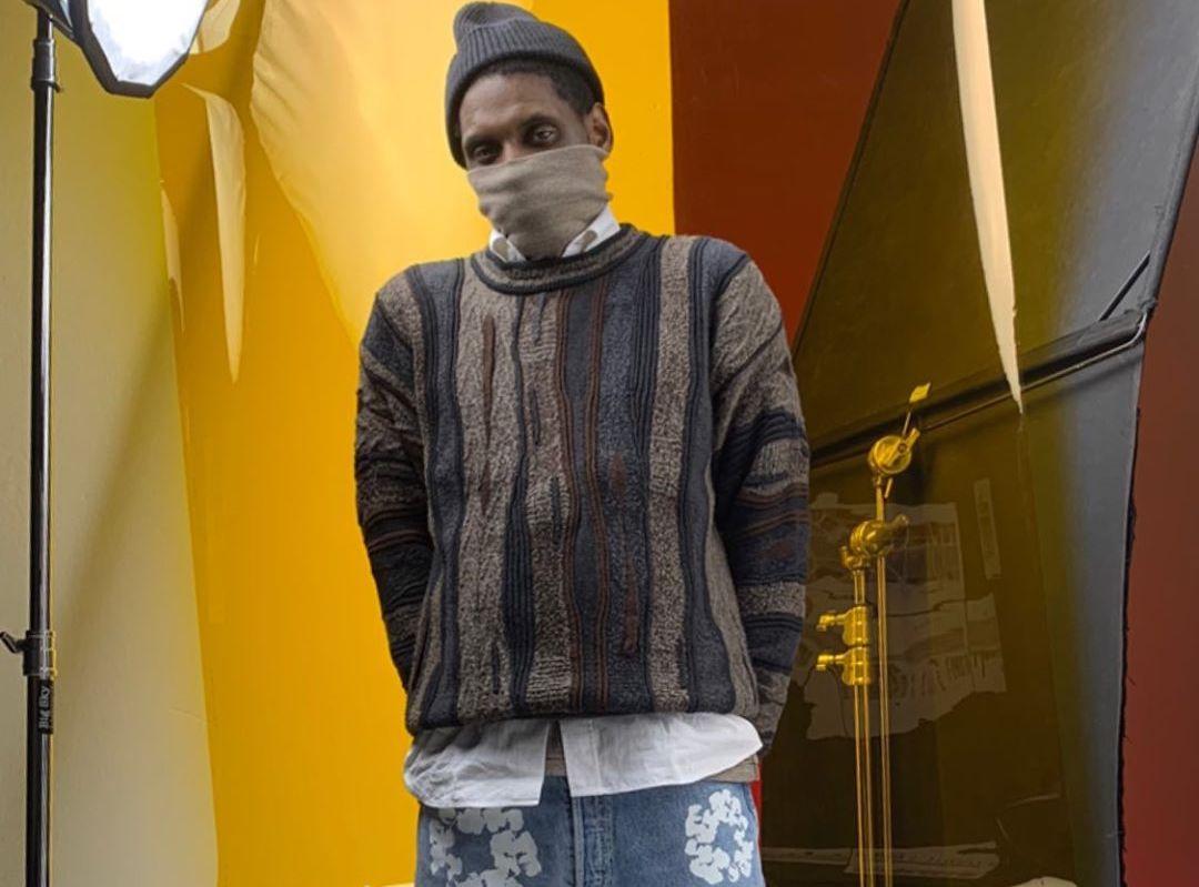 SPOTTED: A$AP Nast Rocks Denim Tear x Levi's Jeans