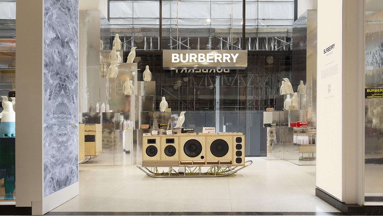 Burberry Opens Up Immersive Space at Selfridges Corner Shop