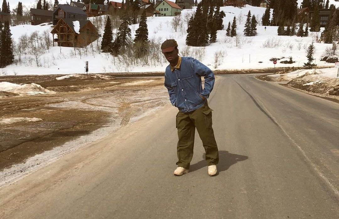SPOTTED: Tyler, The Creator Takes To The Mountains in Gianno OX Sneaker